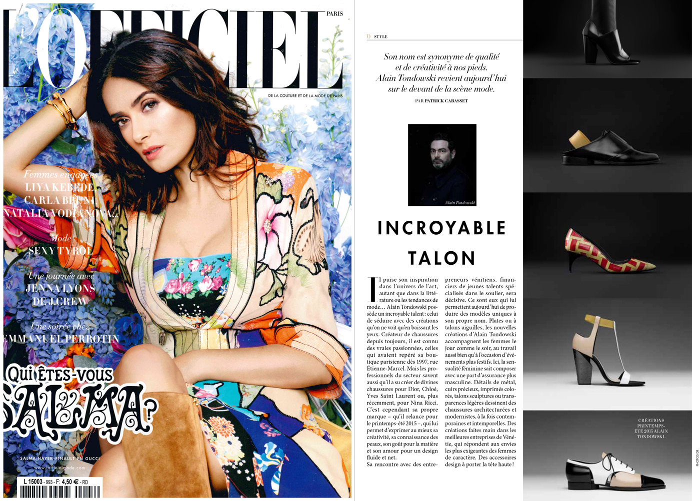 l'Officiel March 2015