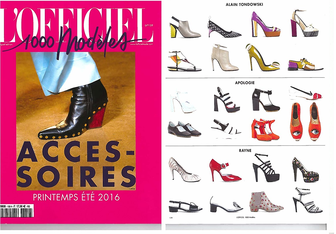 l'OFFICIEL-1000-modeles-accessoires-FRANCE-DEC2015
